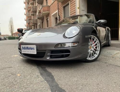 PORSCHE 911 4s CARRERA CABRIO USATO